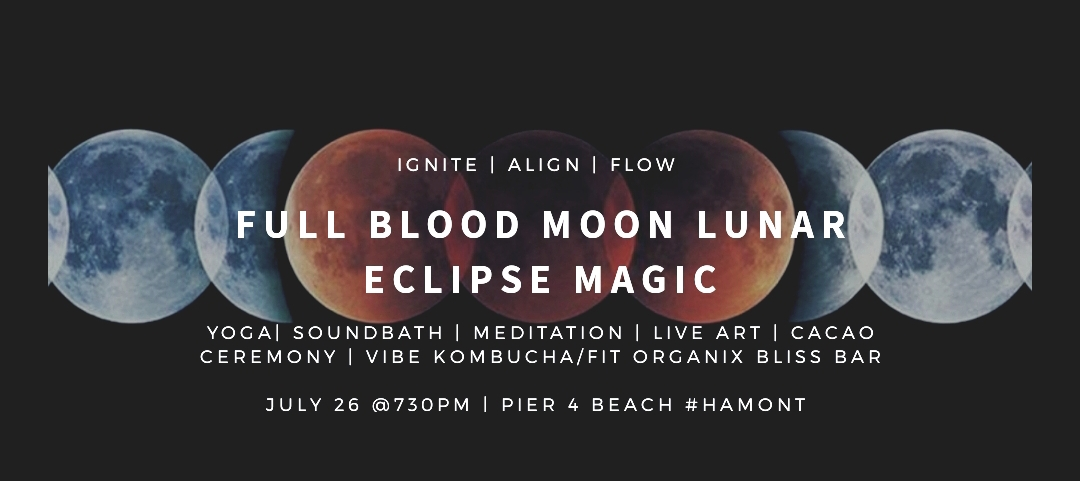 COSMIC SUPERSTORM; Embrace the Blood Full Moon Lunar Eclipse