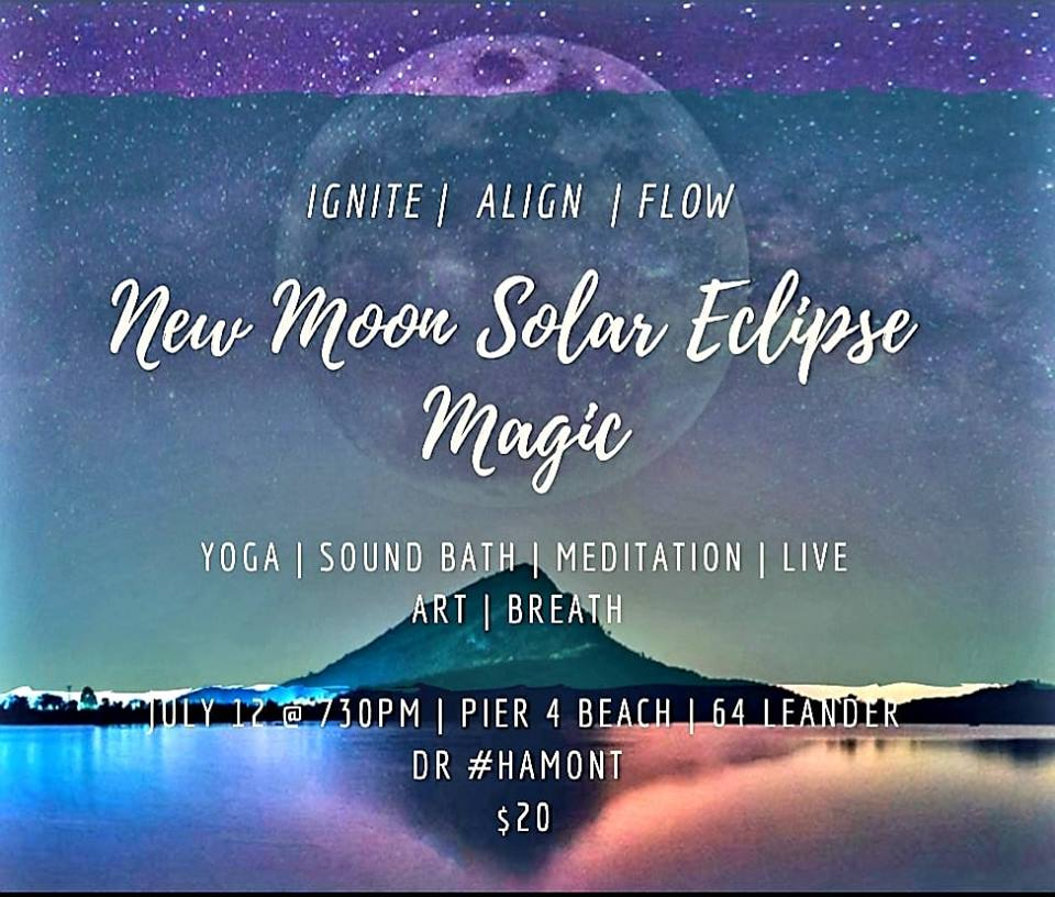 Read more about the article NEW MOON SOLAR ECLIPSE